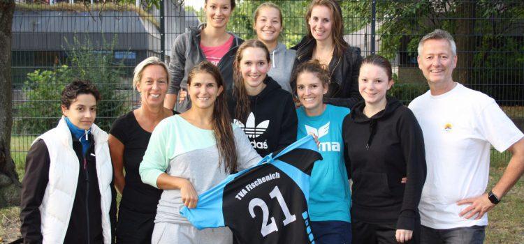 Das Foto zeigt die Damen 2 vom TVA Hürth Volleyball nach ihrem 1. Spieltag.